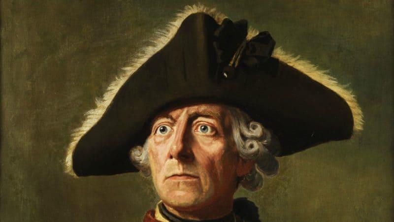 Рис. 3. Фридрих II, портрет