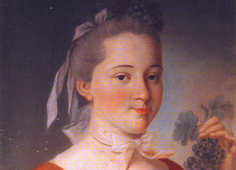 Рис. 3. Портрет Матрены Павловны Балк