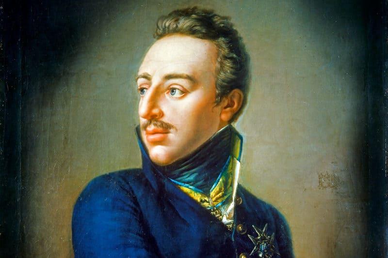 Рис. 2. Портрет шведского короля Густава Адольфа IV