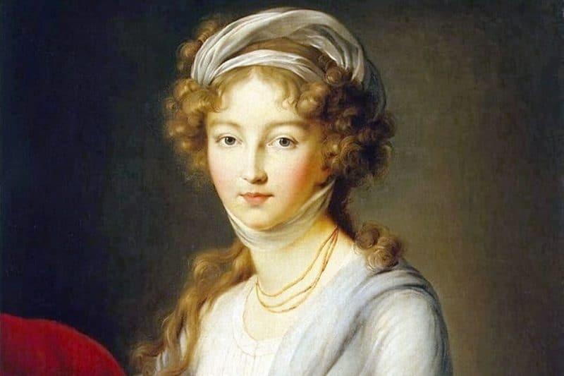 Рис. 2 Елизавета Алексеевна — будущая супруга Александра I