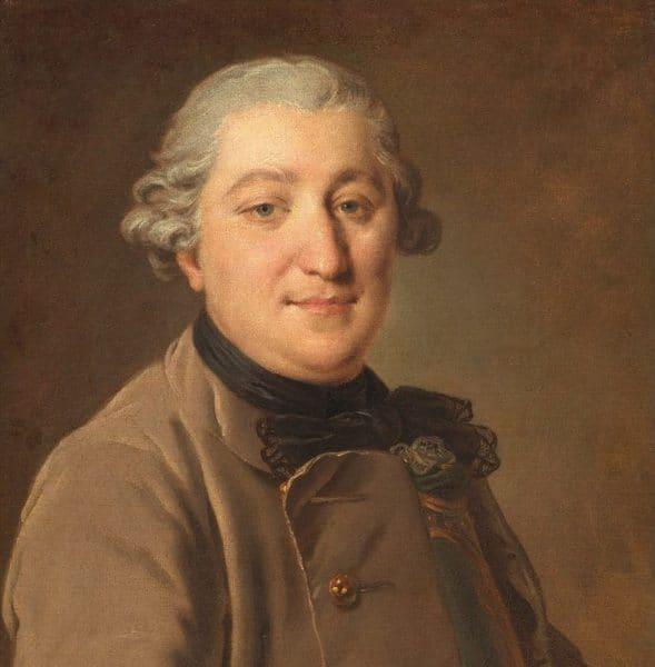 Рис. 1 Рокотов. Портрет И. Г. Орлова