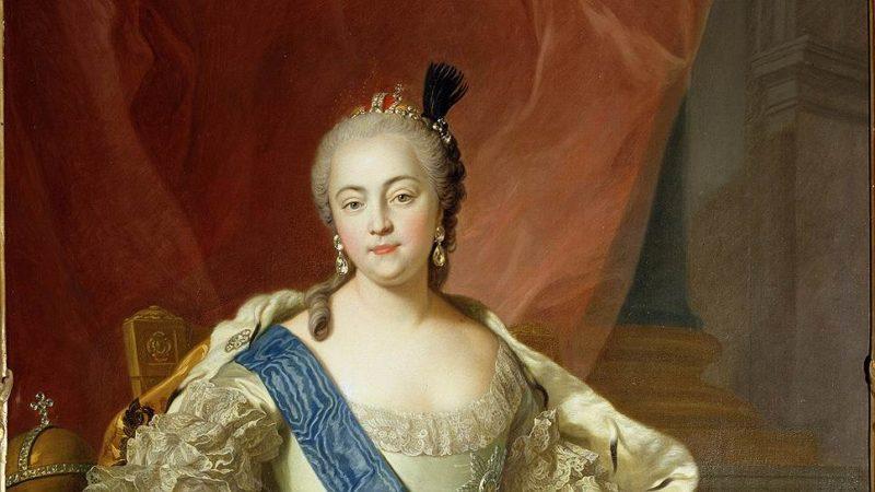 Рис. 3. Елизавета Петровна