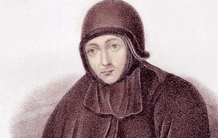 Старица Досифея, предположительно тайно постриженная в монахини княжна Тараканова.