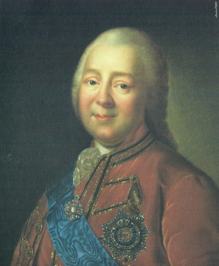 Граф Никита Иванович Панин, доверенное лицо Екатерины Великой.