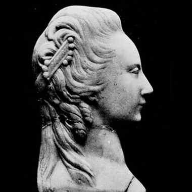 Репродукция барельефа княжны Елизаветы Таракановой