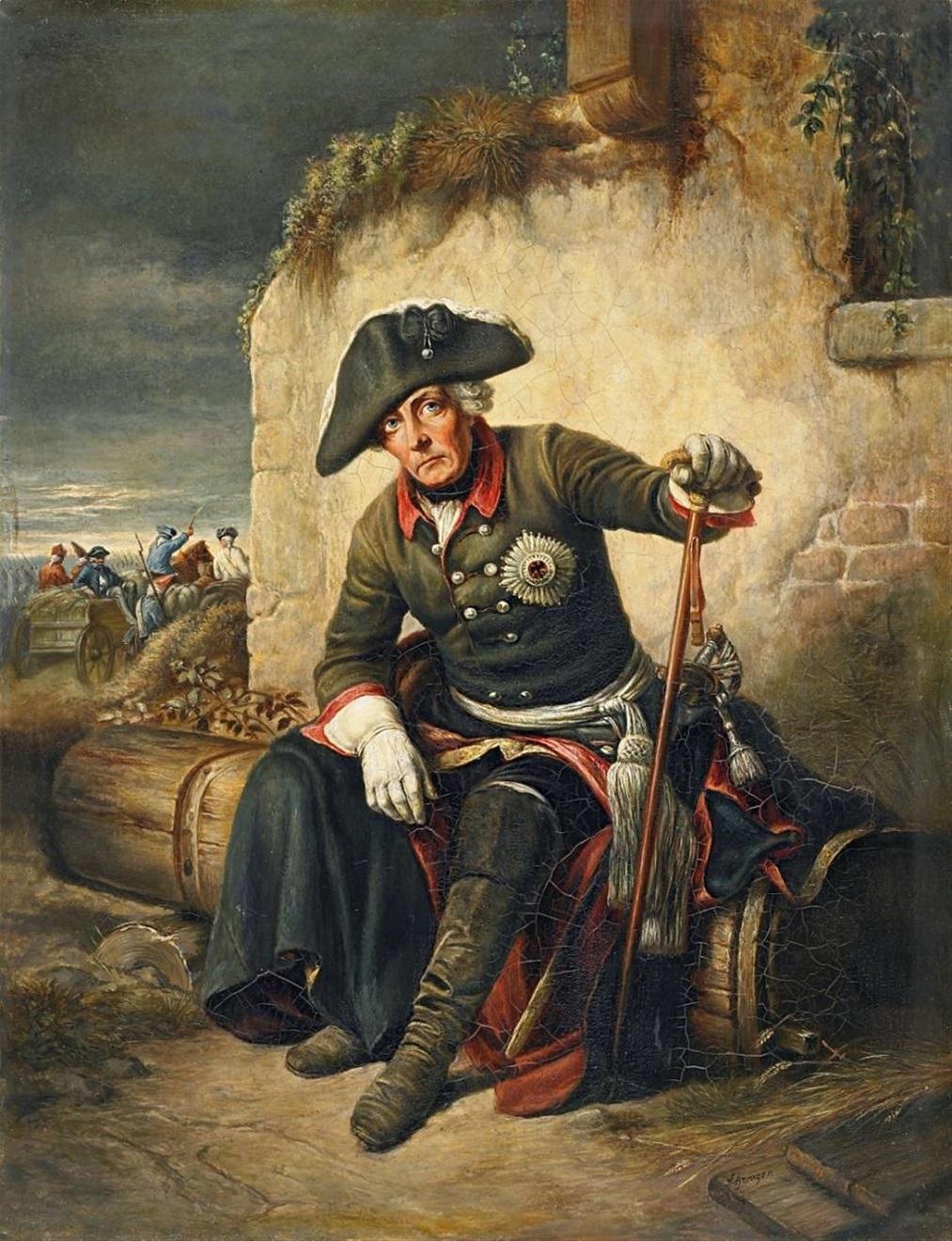 Фридрих II – кумир российского императора