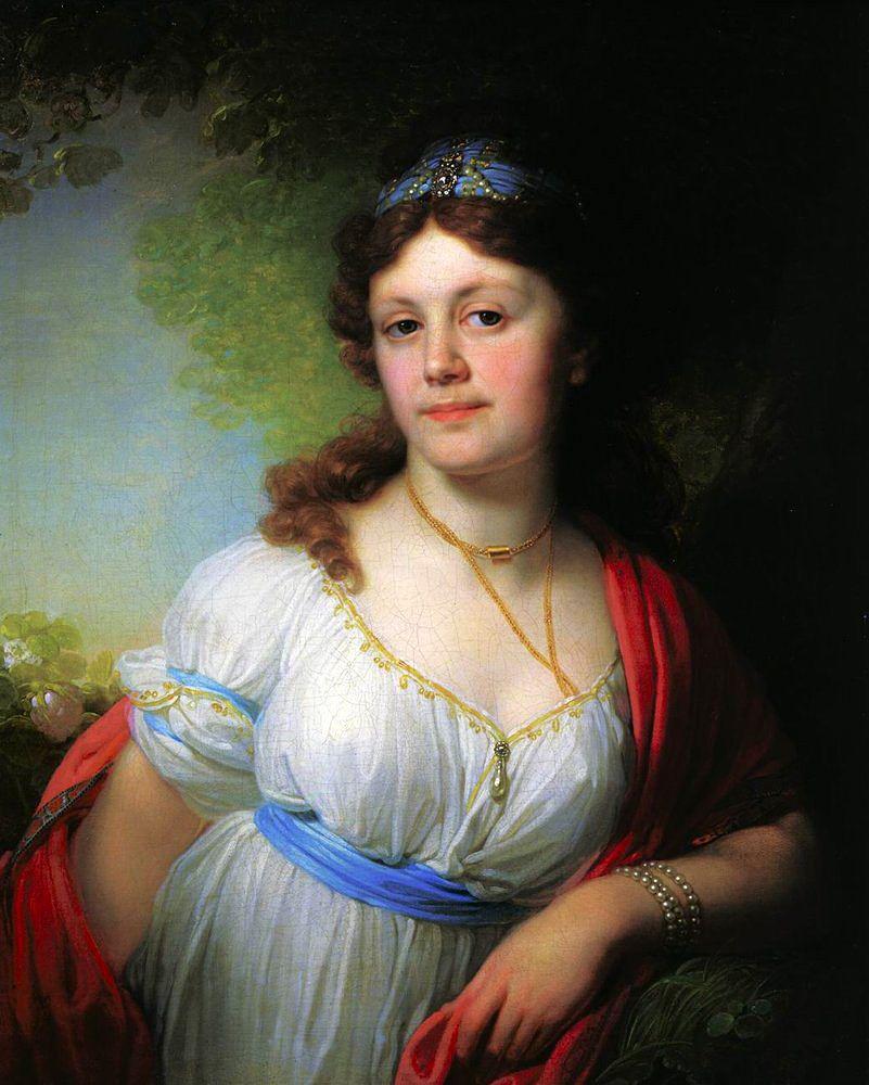 Е. Темкина, портрет В.Л. Боровиковского